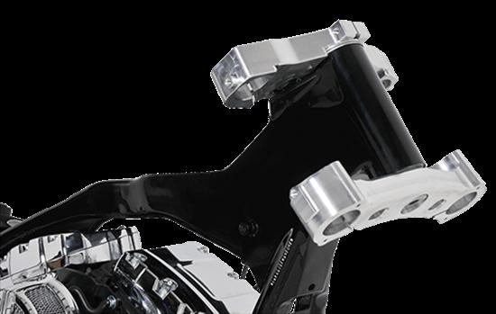 """Picture of FL Touring Bike Platforms 2014-2016 with 30"""" wheel Long Neck Rake Kit."""