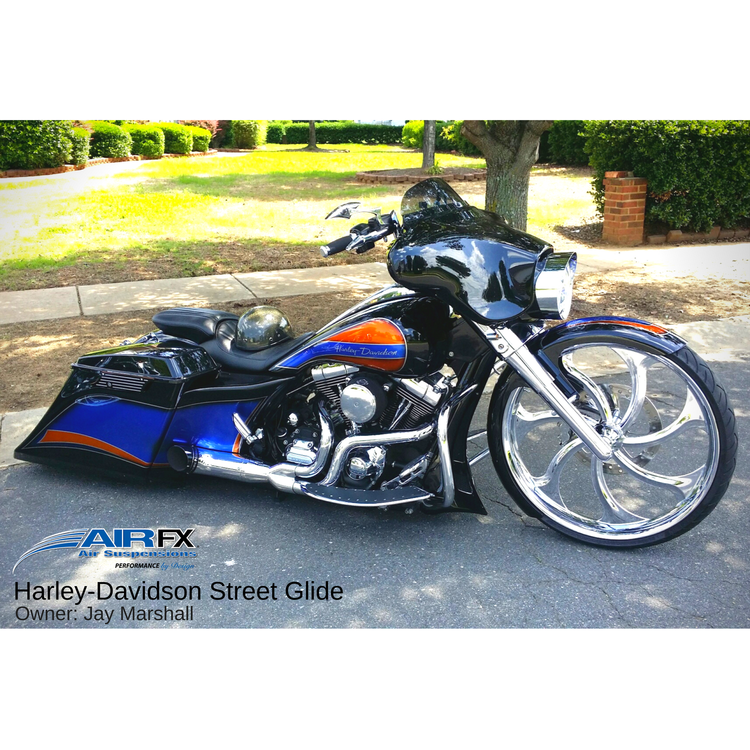 Front cartridge pair for Hawg Halters Triple Trees using long neck with 26 inch front wheel or short neck 30 inch front wheel