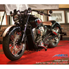 Rear bullet shock pair with hard coat chrome finish. Fits 2015-2018 Indian Scout motorcycles