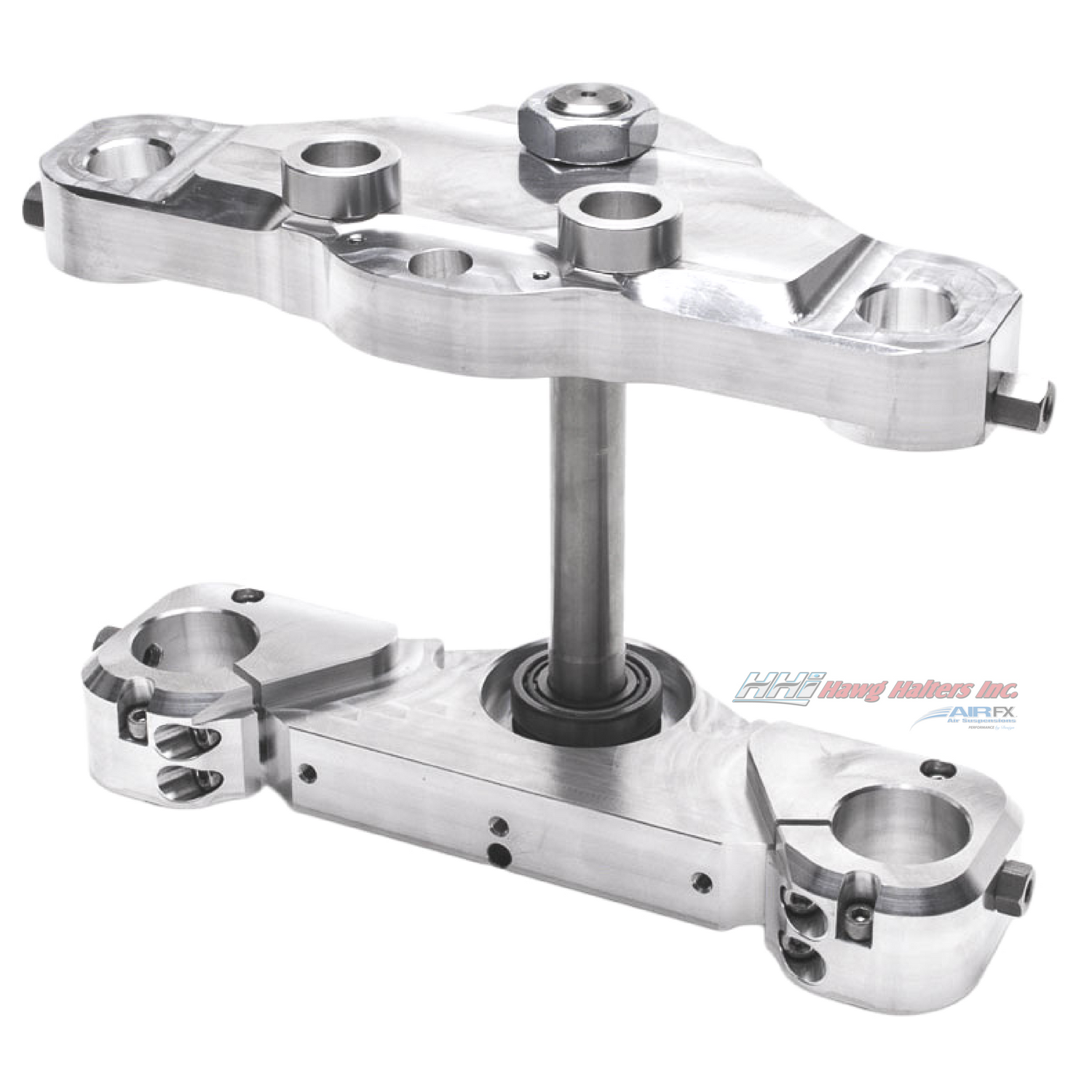 Bolt-On triple tree kit for a 23'' wheel. Machine finish. Fits 2000-2013 FL touring (41FLMX23) [+$699.00]