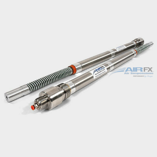 """Picture of 41mm Front Cartridge Pair with HHI Extensions for your 23"""" wheel with Long Neck frame configuration"""