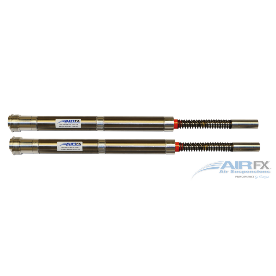 """Picture of AirFX Front Air Ride cartridge pair 49mmFor 2014-2018 Harley FL/Touring motorcycles, 18-21"""" front wheels"""