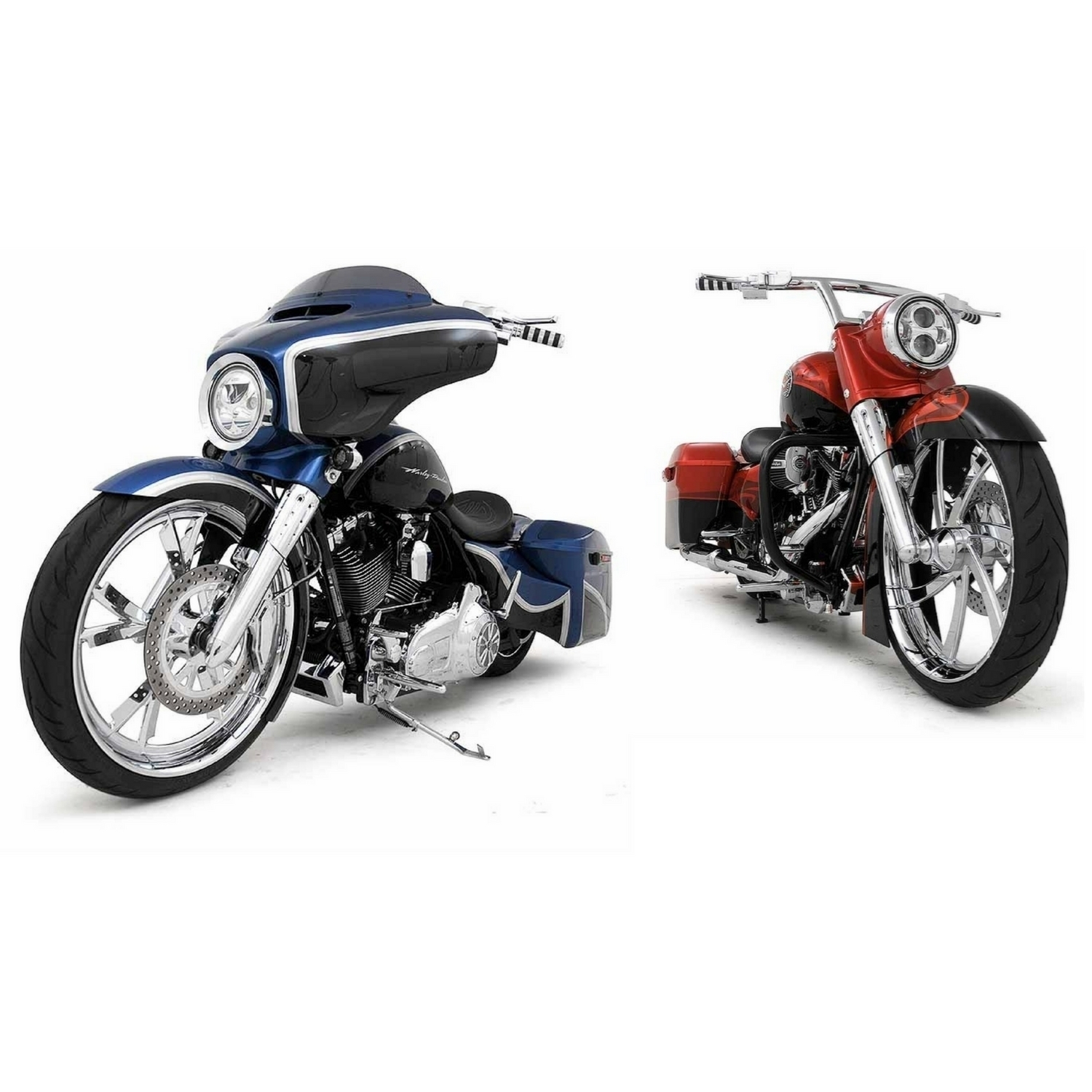 Picture of FL/Touring,  Street Glide & Road King 2009 - 2013 Stock/21