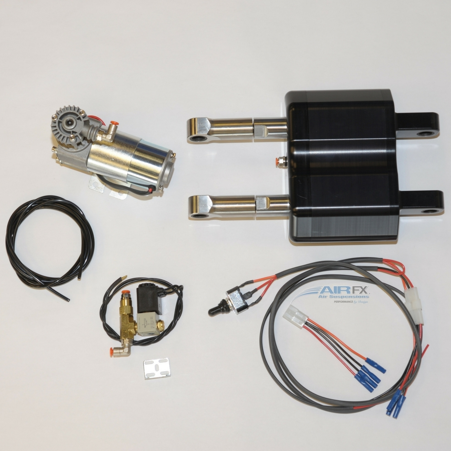 Picture of Single Housing Dual Shock, black Softail 1985 - 1999