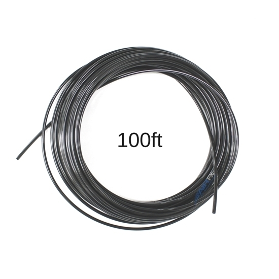 100FT 1/4 OD Tubing, Black