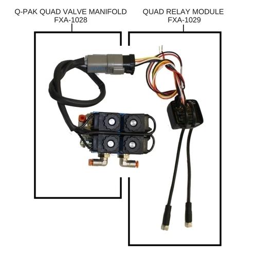 Picture of Quad Relay Module for Q-Pak Valve