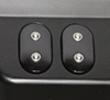Picture of Dual Micro Buttons, Black, 2000-2013 HD FL Touring Dash